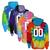 "Basketball Tie Dye Sweatshirt ""Swoosh Happens"" Logo"