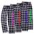 Color Guard Black/White Flannel Pants
