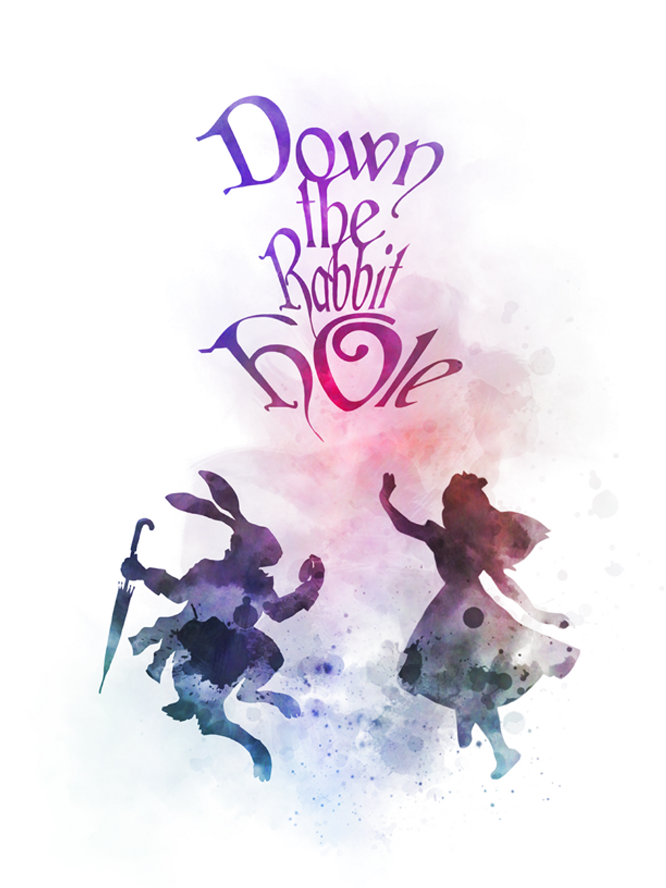 Art Prints Art Art Print Alice In Wonderland Mad Hatter Quote Illustration Wall Art B W Zsco Iq