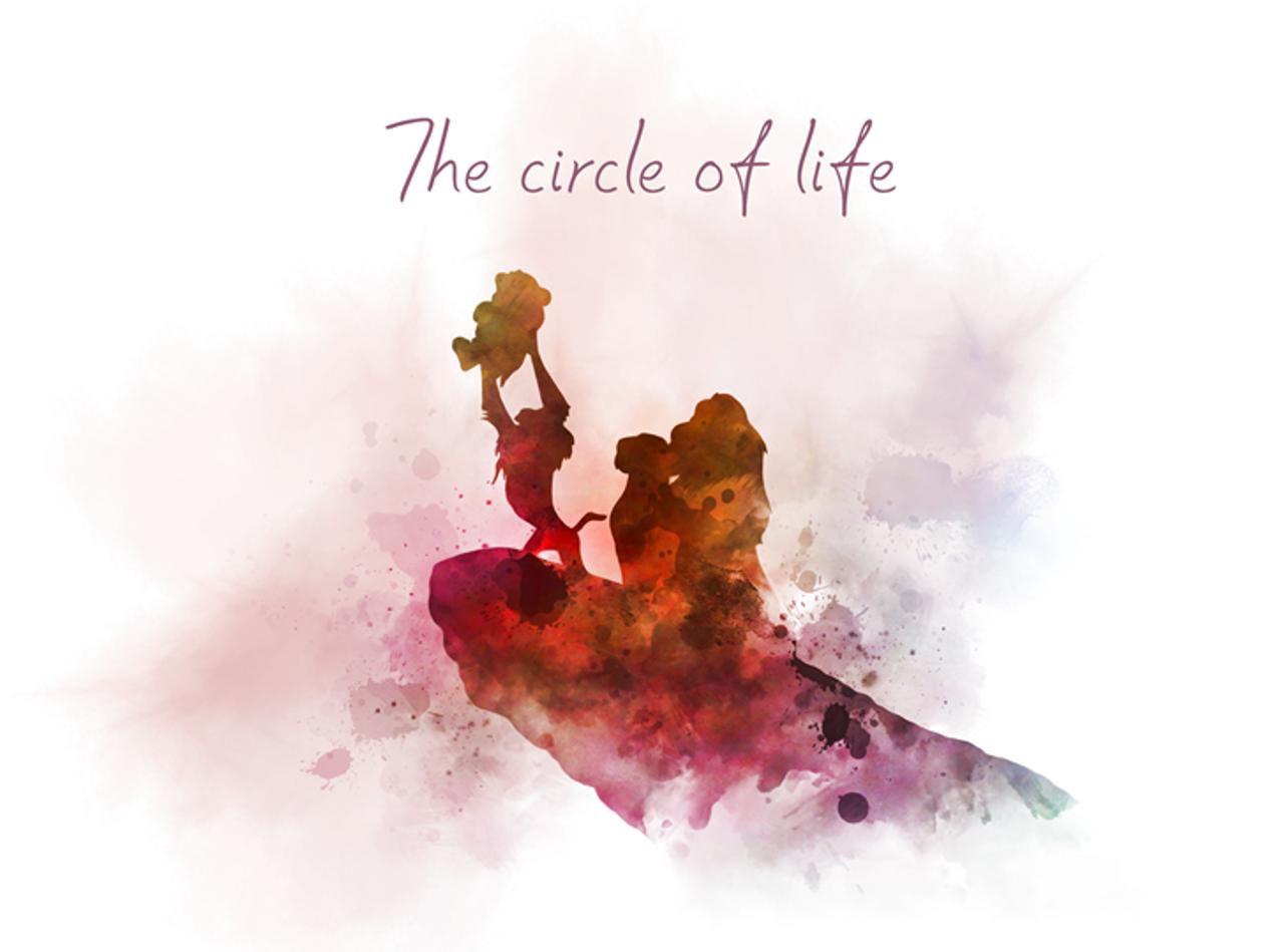 The Lion King Quote Art Print Simba Ceremonial Presentation Circle Of Life Nursery Gift Wall Art Home Decor