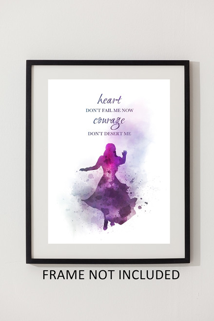 Anastasia Quote ART PRINT Musical Theatre Broadway Inspirational Gift Wall Art