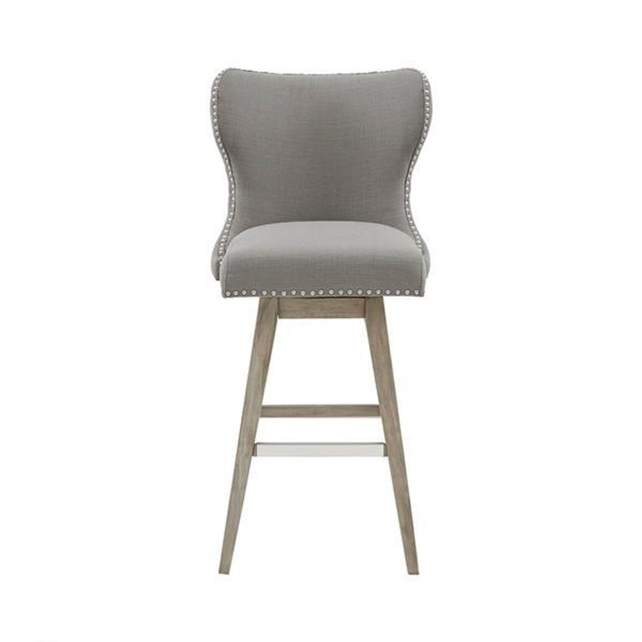 Madison Park Hancock High Wingback Button Tufted Upholstered 9