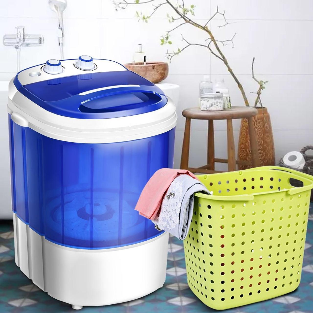CW EP24516 Mini Electric Compact Portable Durable Laundry Washing Machine Washer