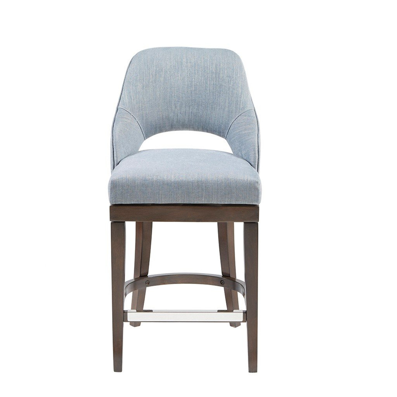 Madison Park Jillian Counter Stool With Swivel Seat MP9 9 By Olliix