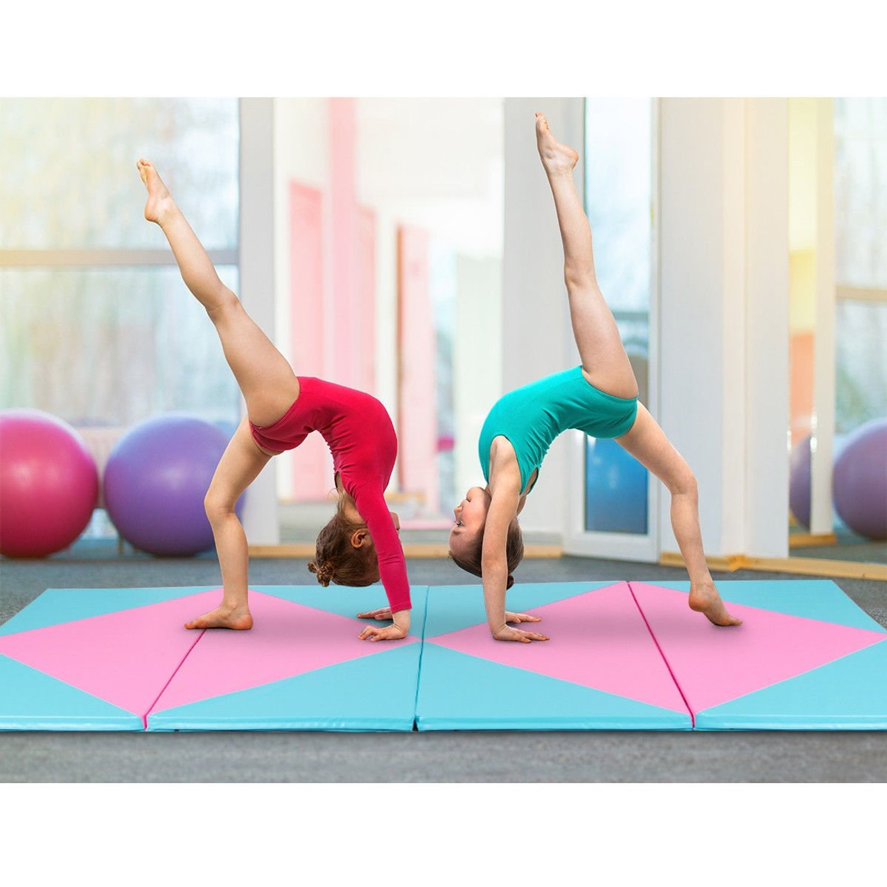 Details about  /Blue//Pink//Purple Compact Exercise Small Universal 3Colors Durable Flexible