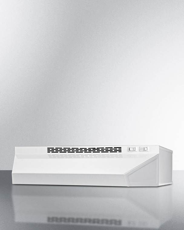 """H1618SS 18"""" Wide Convertible Range Hood For Ducted Or Ductless"""