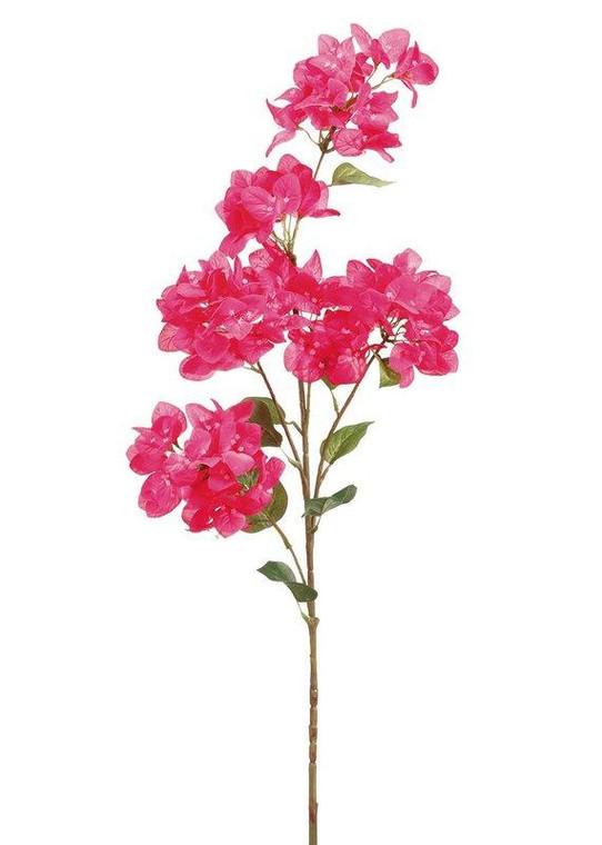 "Bougainvillea Silk Flower In Fuchsia - 43.5"" SLK-FSB130-FU/TT By Afloral"