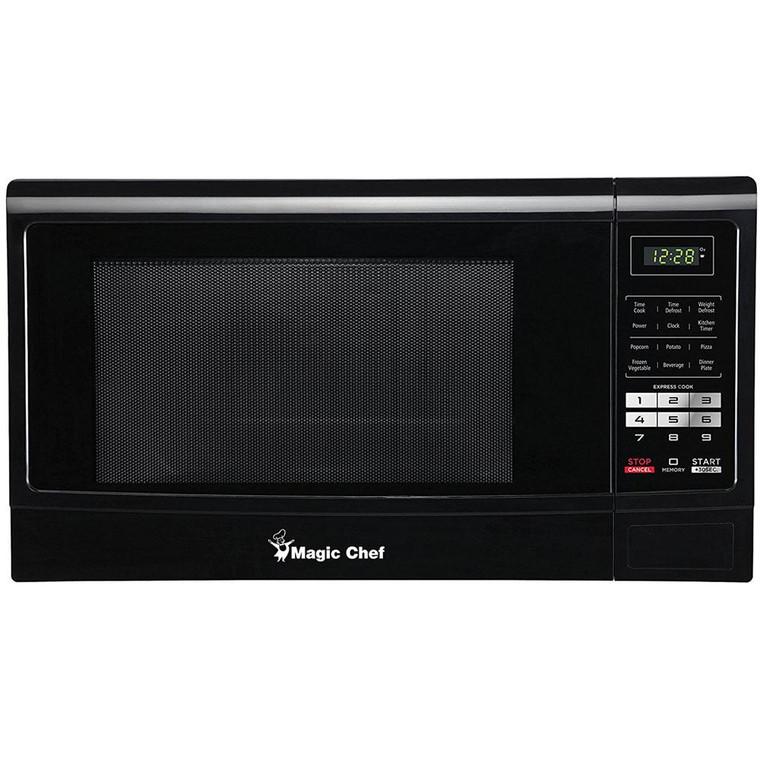 Magic Chef Microwave Oven 1.6 Cu Ft Countertop 1100 Watt Digital Touch Mcm1611B