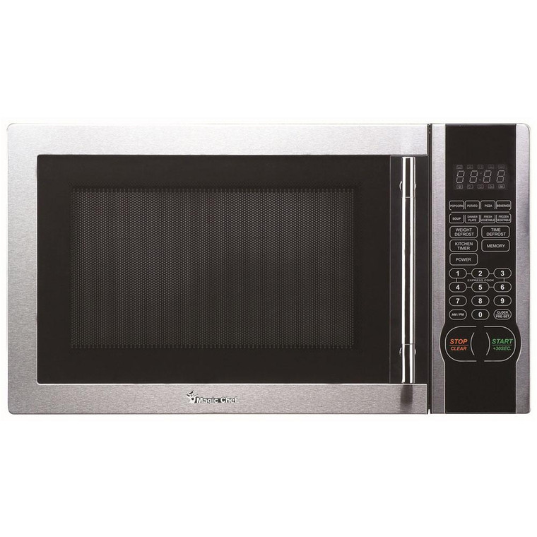 Magic Chef Microwave Oven 1.1 Cu Ft Countertop Digital Touch Mcm1110St