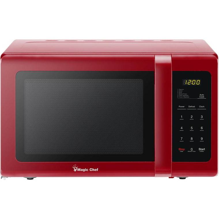 Magic Chef Microwave Oven 0.9 Cu Ft Countertop Digital Touch Mcd993R