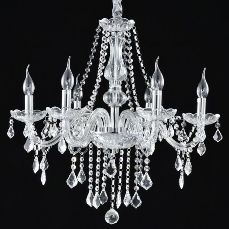 Elegant Crystal Chandelier Ceiling Light EP24665US