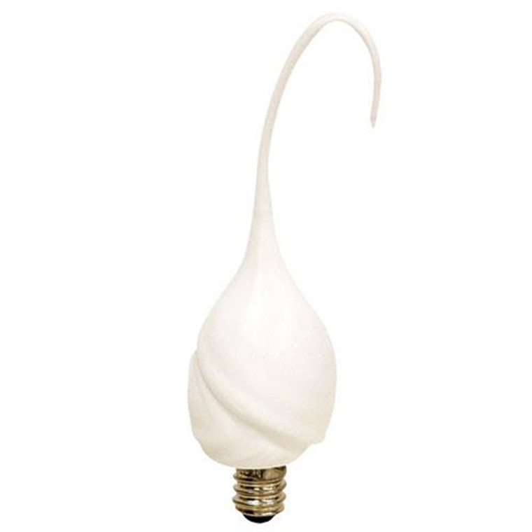 CWI G0102243 Pearl Silicone Flame Cover With Replaceable Bulb