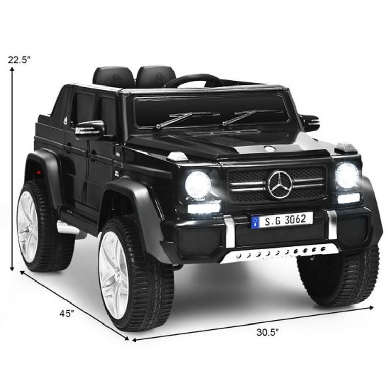12V Licensed Mercedes-Benz Kids Ride On Car-Black TY328021BK