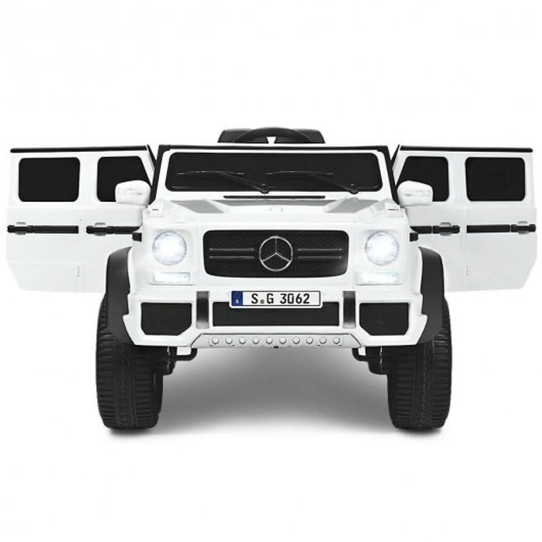 12V Licensed Mercedes-Benz Kids Ride On Car-White TY328021WH