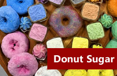 donut sugar