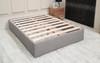 Veria Upholstered  Bed Base & Allure Mememory Foam Pocket Sprung Mattress