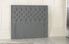 Eloise Floor Standing - Bed Fixing Headboard Headboard.. Available in Crush Velvet, Chenille, Linen, Faux Suede, and Smooth Velvet