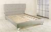 Jazmine Upholstered Bed Frame Grey Linen