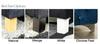 Esupasaver Denver Upholstered Bed feet selection