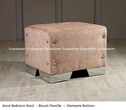 Ascot bedroom stool