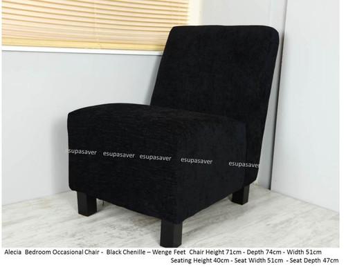 Alecia bedroom chair