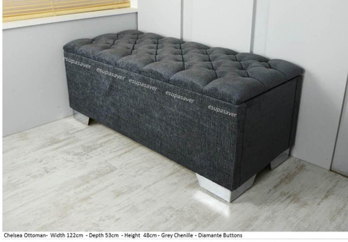 Esupasaver Chelsea ottoman storage box