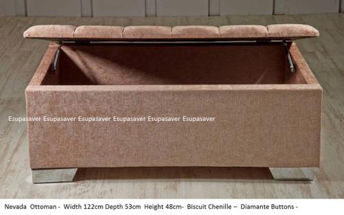 Esupasaver Nevada ottoman storage box
