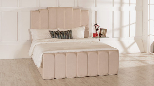 Madison Ottoman Bed Barley Faux Suede