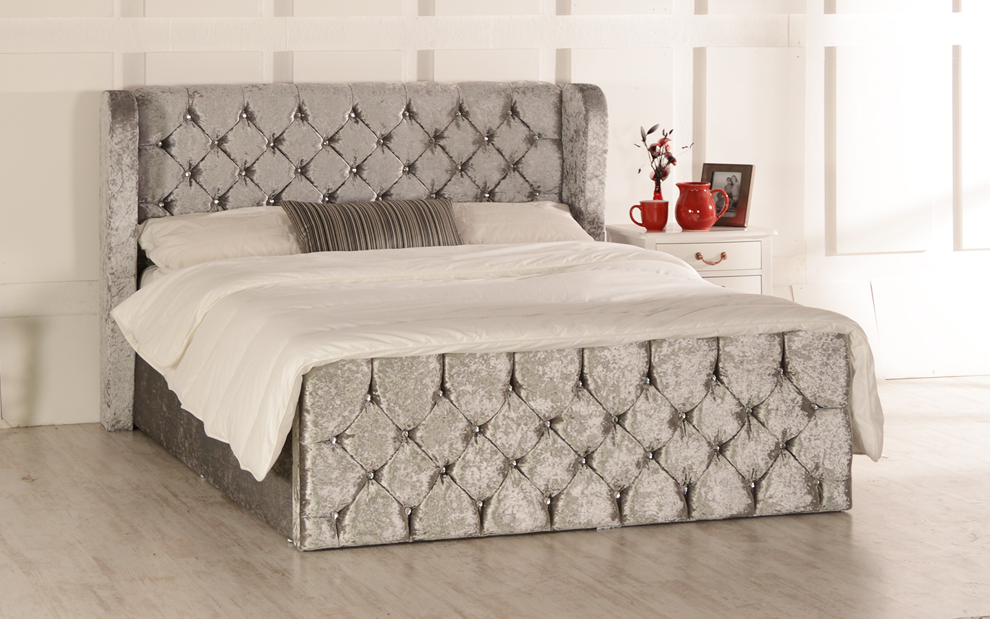 Picture of: Ottoman Beds Fabric Beds Mattresses Double Single King E Supa Saver