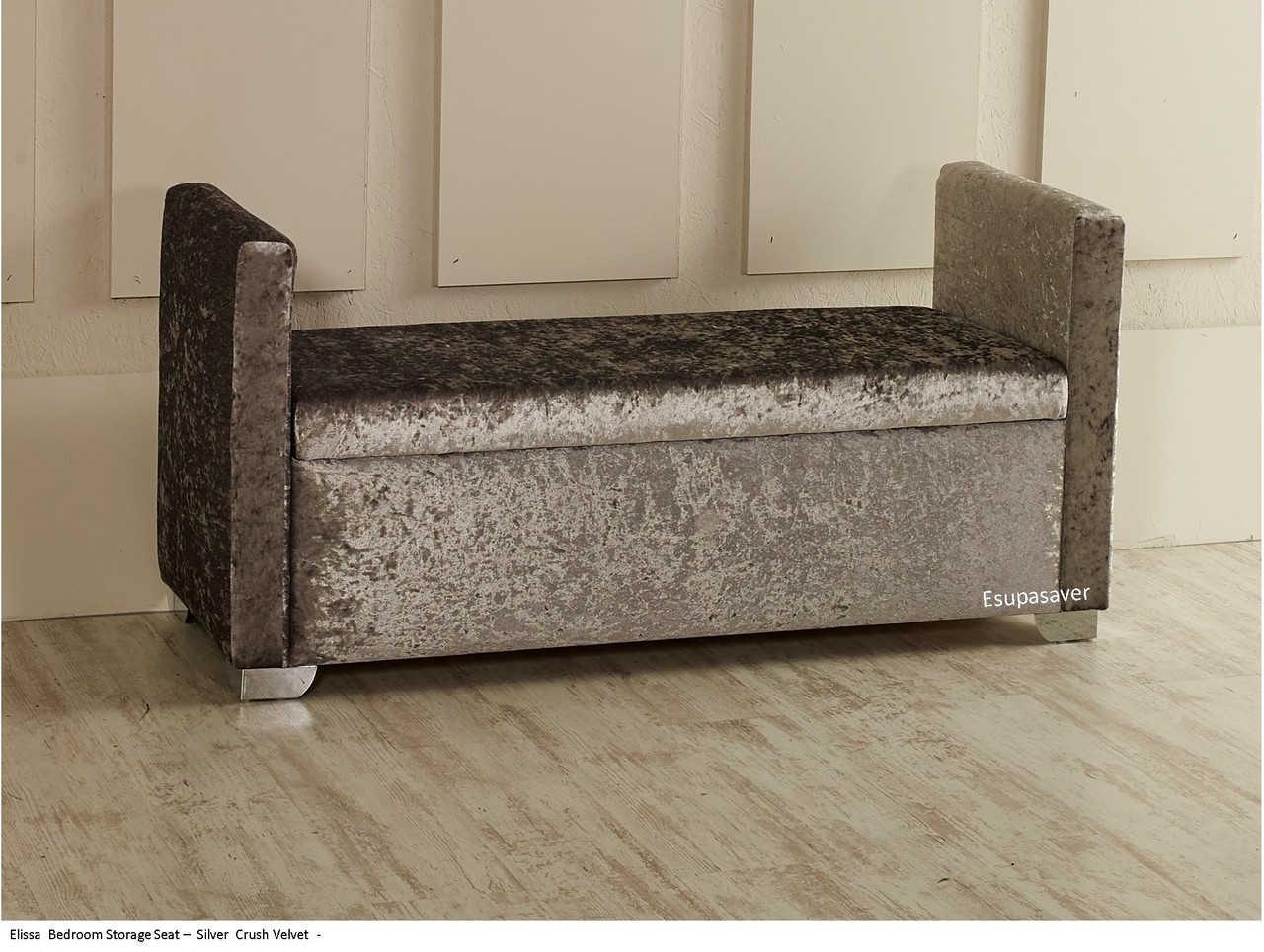 Incredible Elissa Ottoman Storage Box Seat Available In Crush Velvet Chenille Linen Or Faux Suede Fabrics Gmtry Best Dining Table And Chair Ideas Images Gmtryco