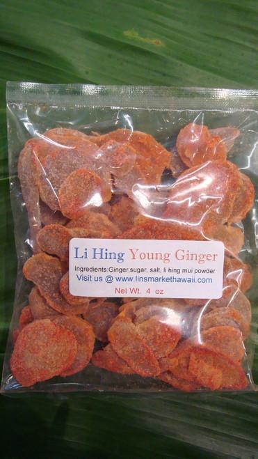 Li Hing Young Ginger 4oz