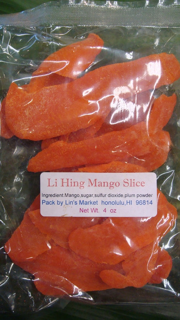 Li Hing Mango Slices 4oz