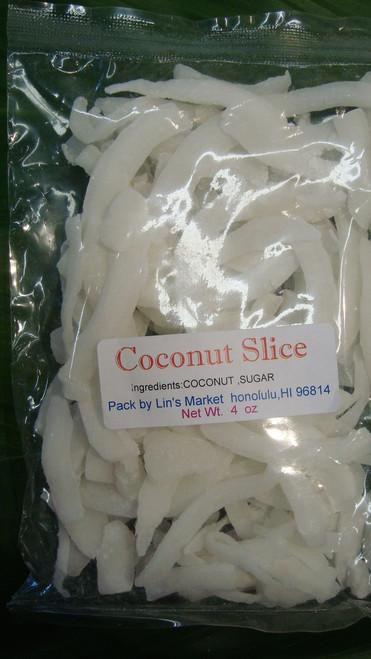 Coconut Slices 4oz.