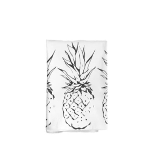 "Flour Sack Towel ""Pineapples"""