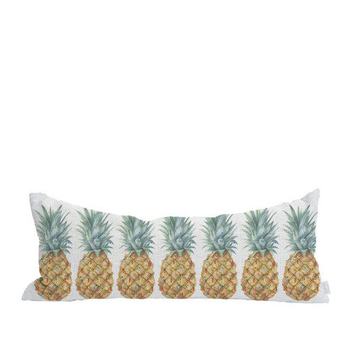 "Pillow Cover ""Mele Pineapples"""