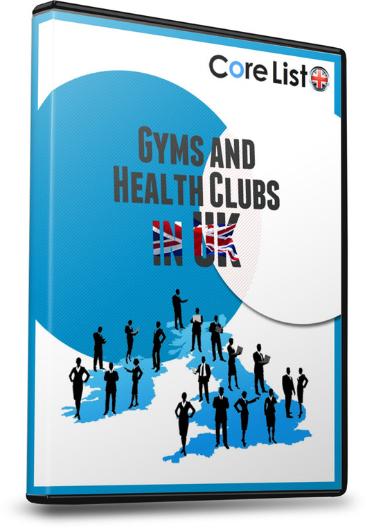 List of  Gyms and Health Clubs Database