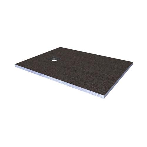 AquaFix Wetroom Shower Tray - 1200x900x30mm Square End Waste