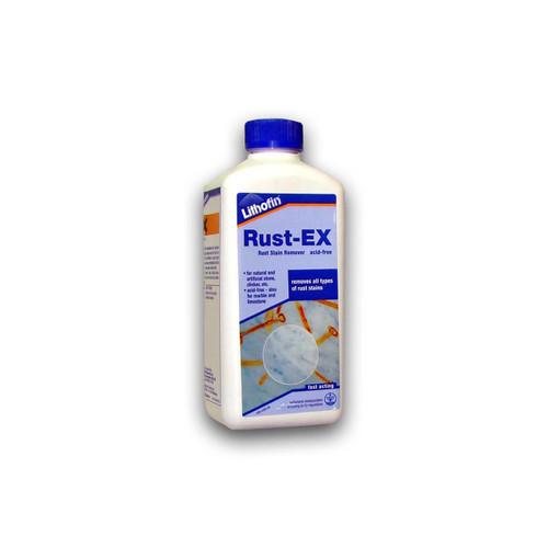 Lithofin Rust EX Non Acidic Rust Stain Remover - 500ml