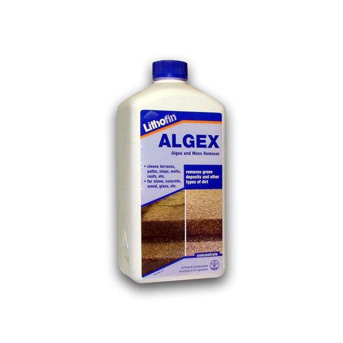 Lithofin ALGEX Special Cleaner For Outdoor Areas - 1 Litre