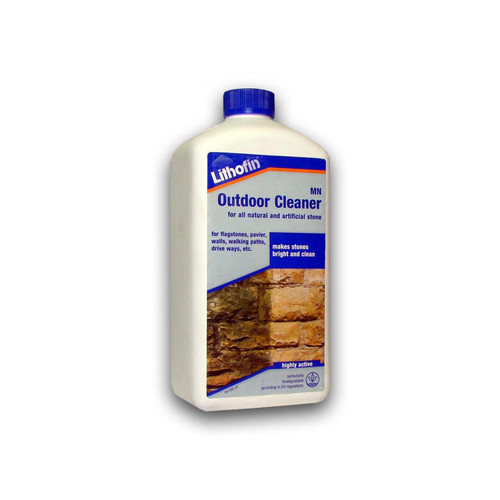 Lithofin MN Outdoor Cleaner for Natural & Artificial Stone - 1 Litre