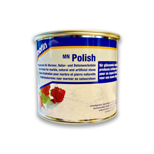 Lithofin MN Polish - Care Cream for Marble and Natural Stone - 500ml