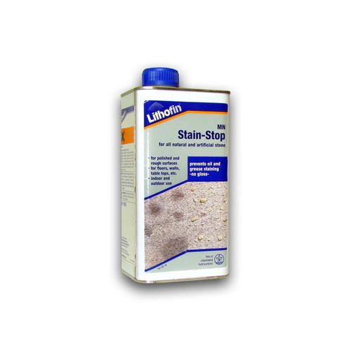 Lithofin MN Stain Stop Natural Stone Impregnator & Sealer - 1 Litre