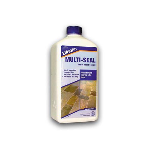 Lithofin Multi Seal Hard Working Satin Finish - 1 Litre