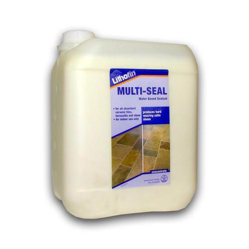 Lithofin Multi Seal Hard Working Satin Finish - 5 Litre