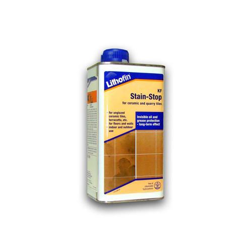 Lithofin KF Stain Stop For Ceramic & Quarry Tiles - 1 Litre