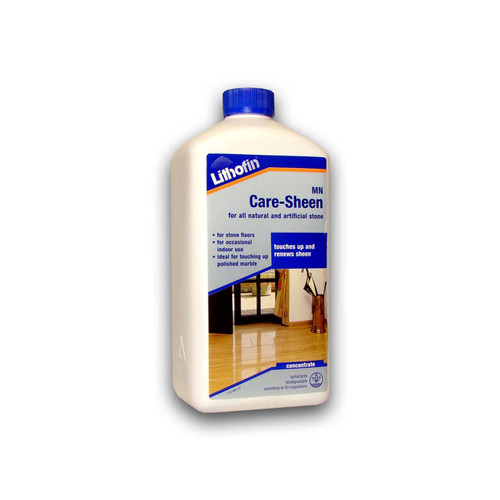 Lithofin MN Care Sheen For Polished Stone Tiles - 1 Litre