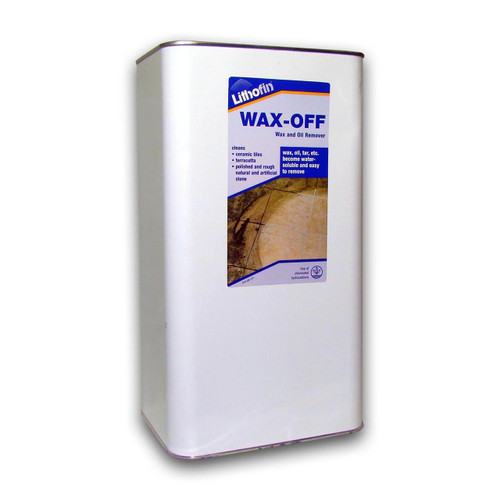 Lithofin Wax Off Wax & Oil Remover - 5 Litres
