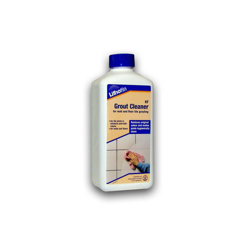 Lithofin KF Grout Cleaner Restores Tile Grout Joints - 500ml