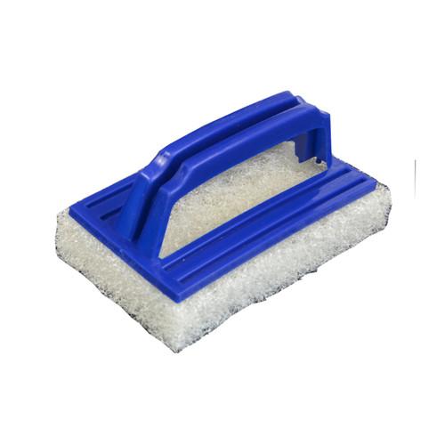 Tile Care Emulsifying Hand Pad For Medium Scrubbing (White) 15x9cm