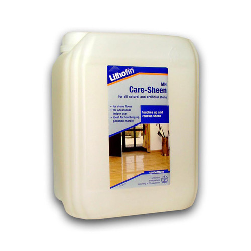 Lithofin MN Care Sheen For Polished Stone Tiles - 5 Litre